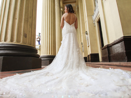 The Making of Garden Bridal Gown