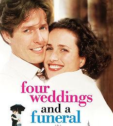 Weekend Cinema - 4 Weddings and a Funeral  - Sunday Screening (1)