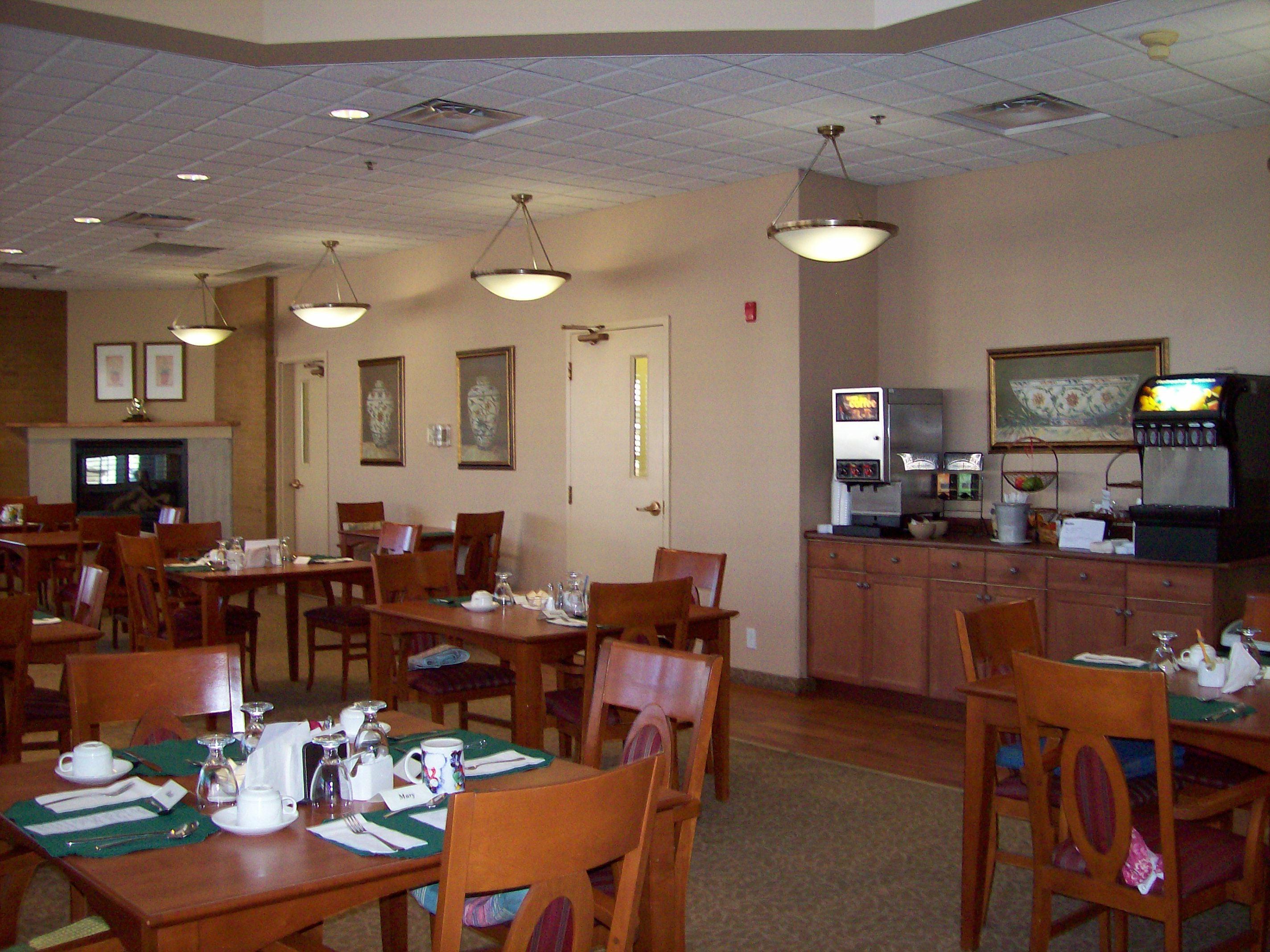 24-Hour Buffet Area