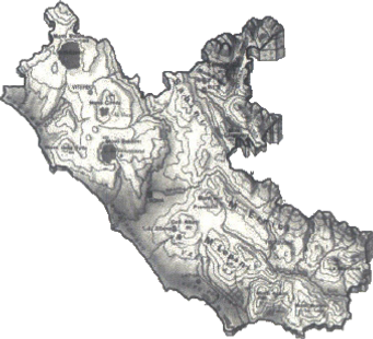 Lazio region in Italy