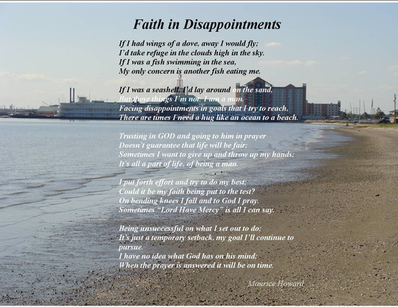 Faith in Disappointment