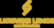 Logo - Licyanne Lemos - vertical dourado