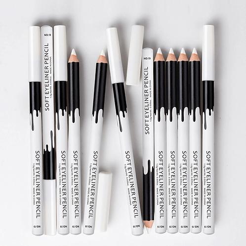 Lápis Delineador Branco Menow para olhos
