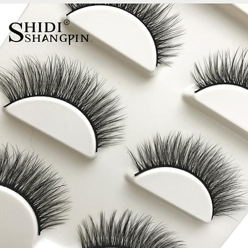 Cílios Postiços Shidi Shangpin 3 pares Close