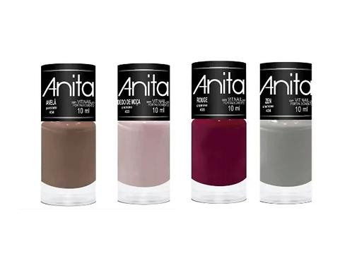 Esmaltes Anita Coleção Outono 2019 cores