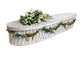 white willow coffin