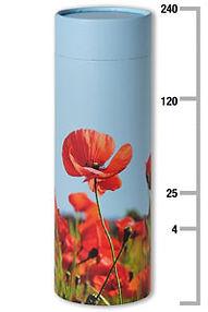 Poppy scatter tube