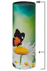 Butterfly scatter tube