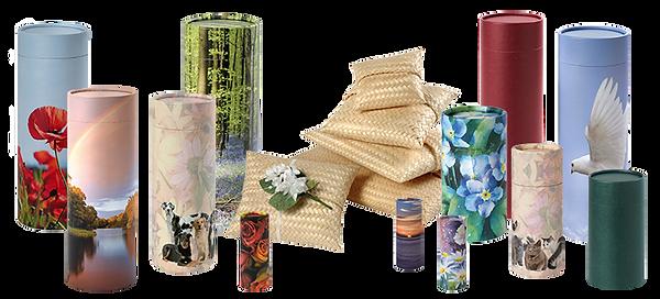 Scatter tube product range