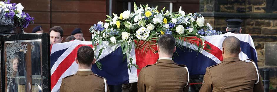 A veterans funeral