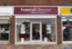 Rounce Funeral Services Shopfront