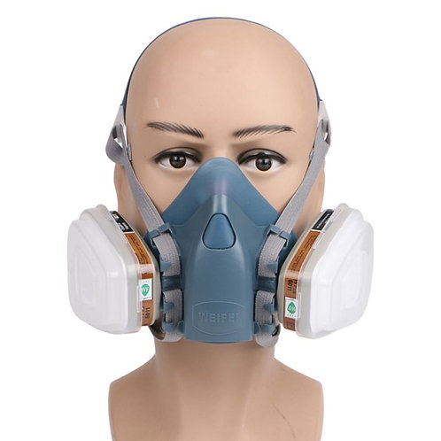 Full Face Mask Respirator Face Gas Mask 5N11 501 for 3M 7502 6001