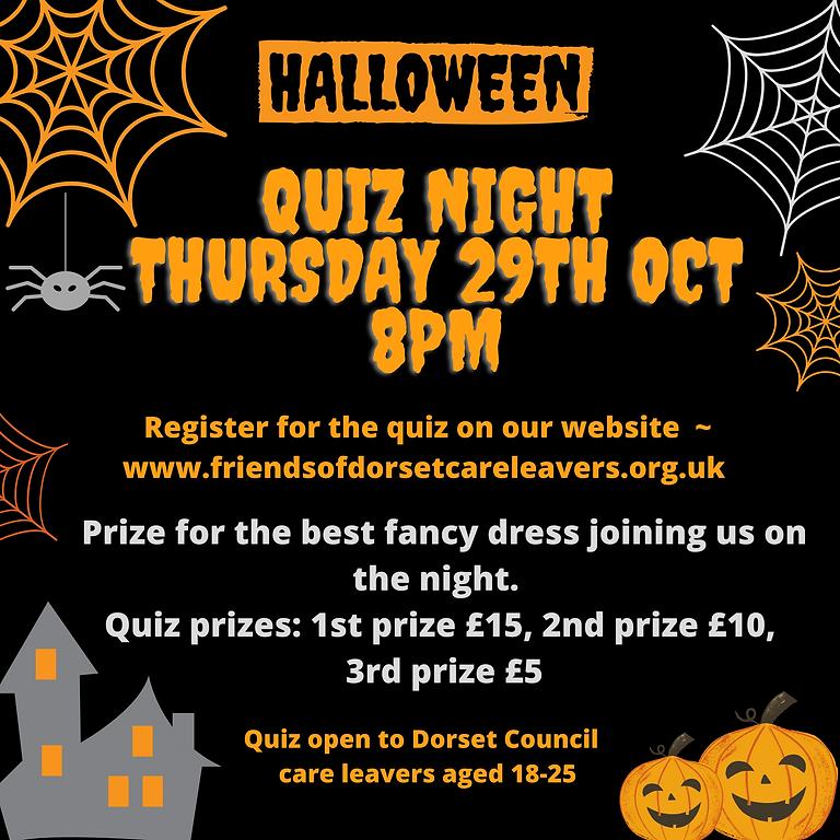 Halloween Quiz Night - 29th October - 8pm