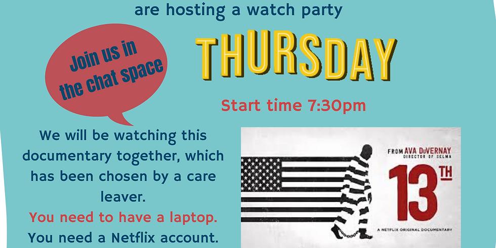 QuaranTEAM NETFLIX Watch Party ~ 18th June
