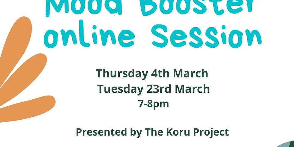 Mood Booster Workshop Tues 23rd