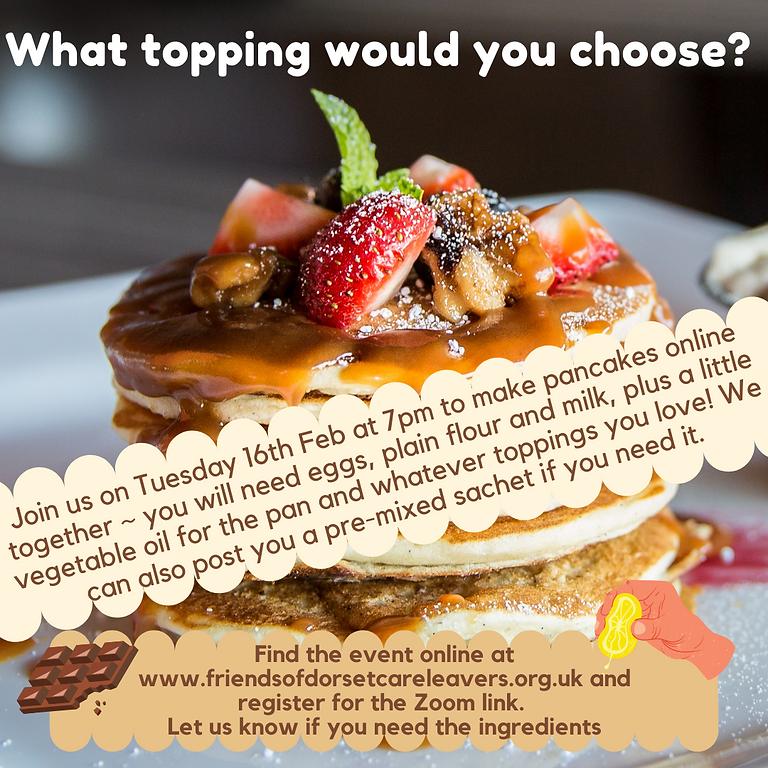 Pancakes on Zoom 🥞