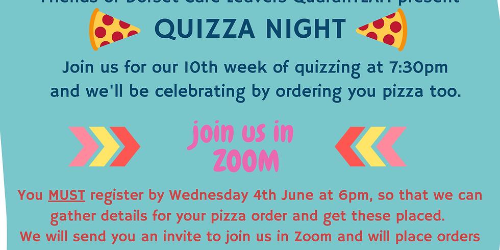 QUIZZA Night, Thursday 4th June