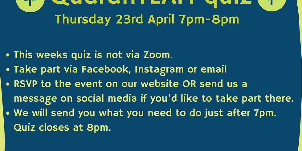 QuaranTEAM Quiz 23rd April
