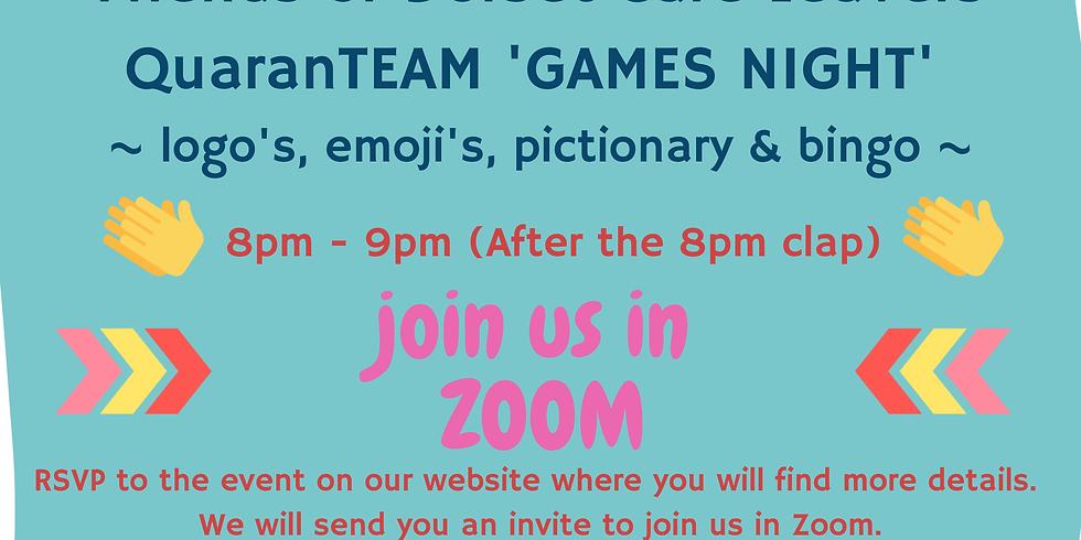 QuaranTEAM GAMES NIGHT 7th May