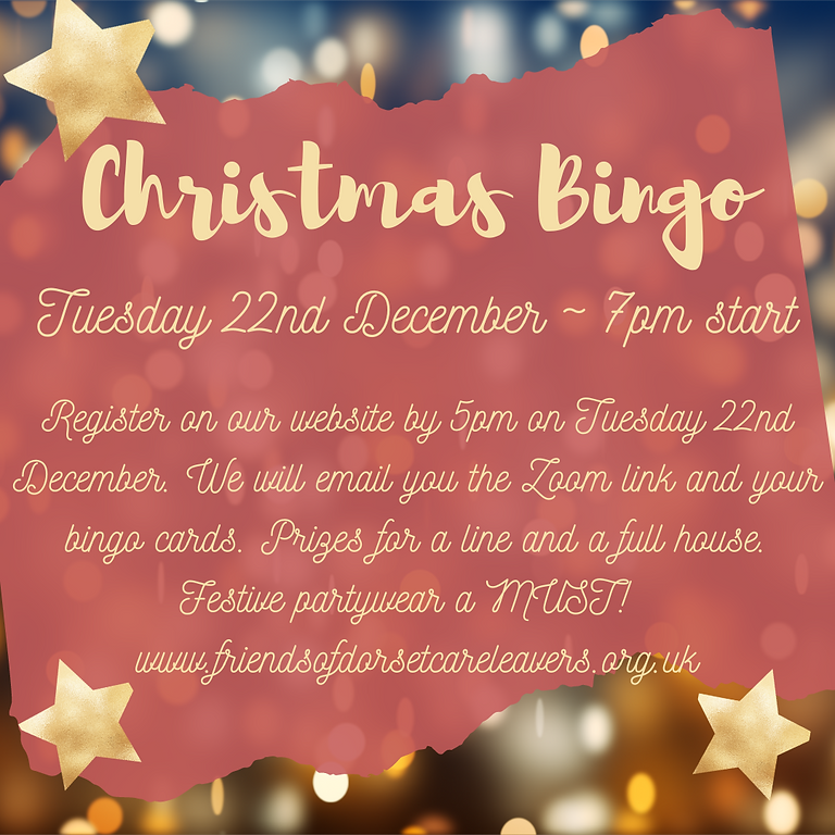 Christmas Party and Bingo ~7pm