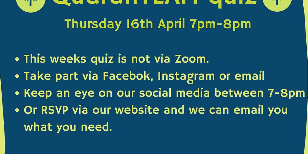 QuaranTEAM Quiz 16th April