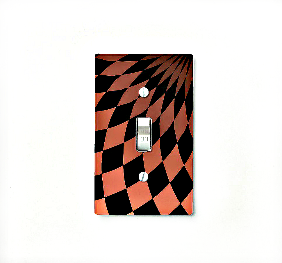 Light Switch Cover Single - Wonderland Floor