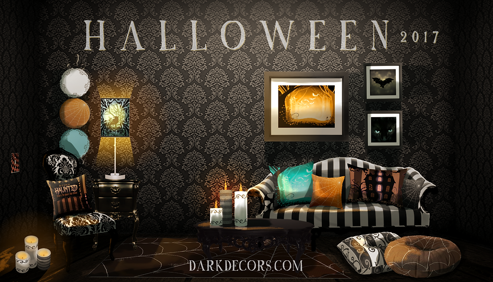 Halloween Room Design 2017 Dark Decors