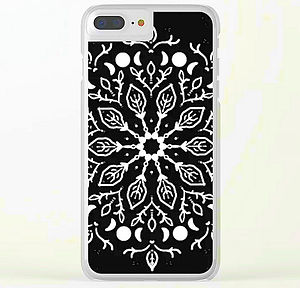 clear iphone case triple moon mandala da