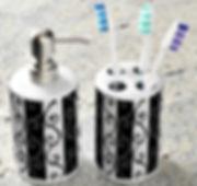 hand dispenser and toothbrush holder dar