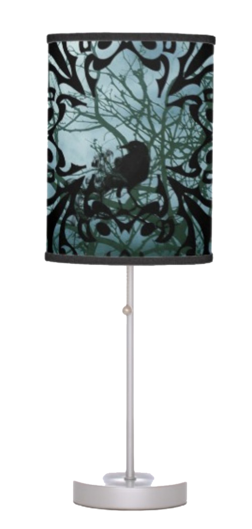 Table Lamp - Sitting Raven