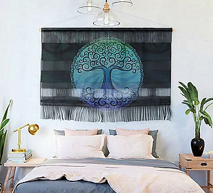 Wall Hangings, canvas, tree of life, bla