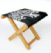 folding stool, outdoor furnishings, zen