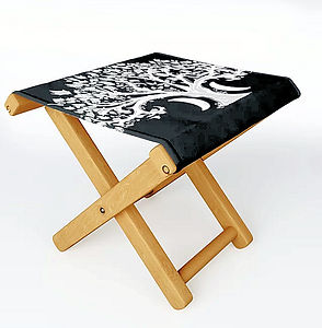 folding stool, outdoor furnishings, zen