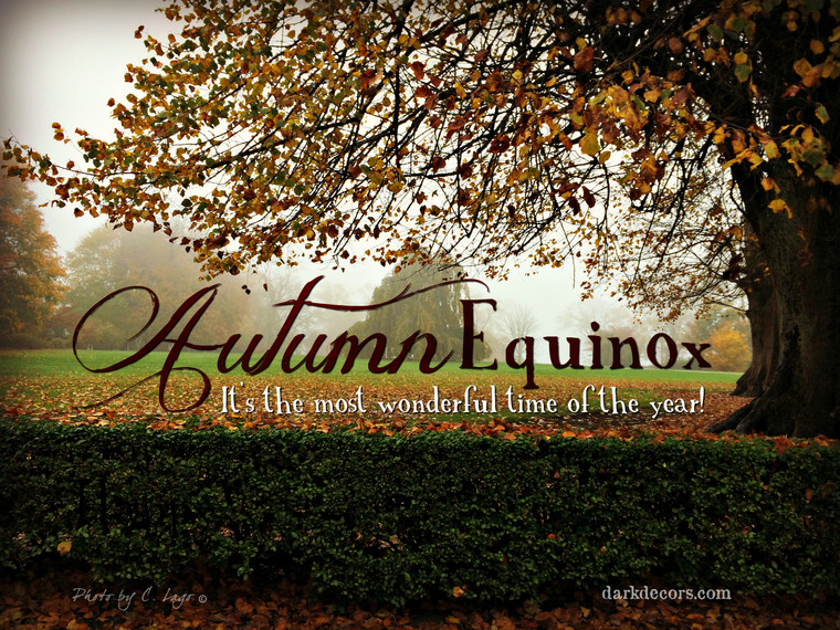 Happy Autumn Equinox!