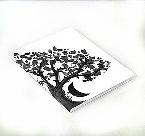 notebook, zen den tree, dark decors, jou