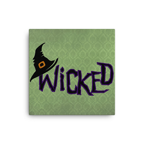 Canvas Wicked Halloween Wall Decor