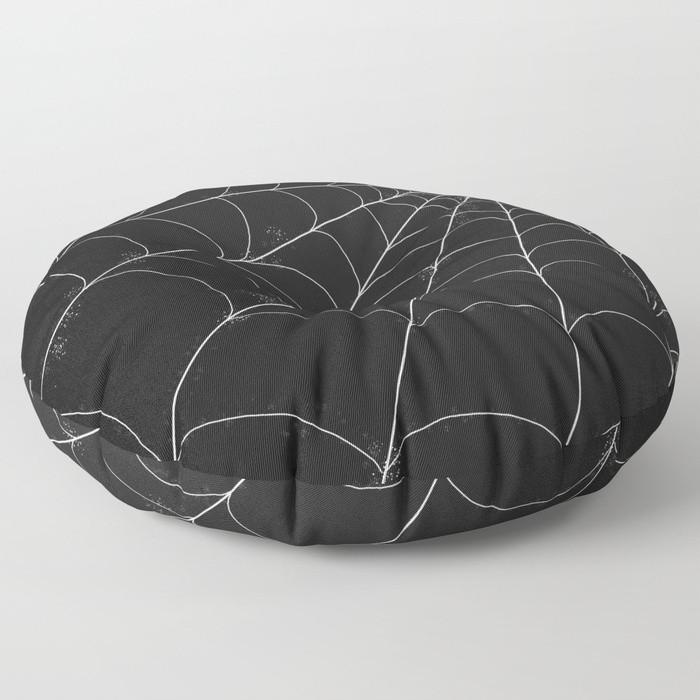 Floor Pillow - Spiderweb