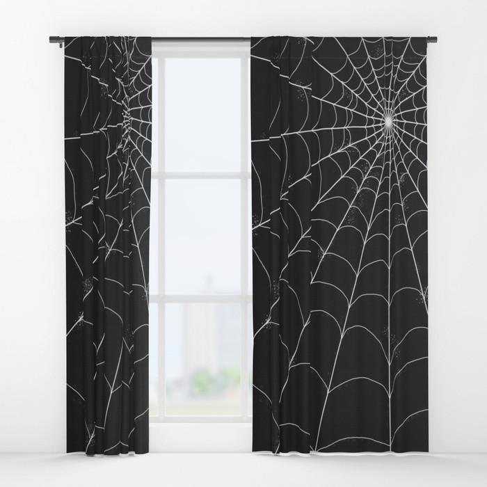 Spiderweb Window Curtains