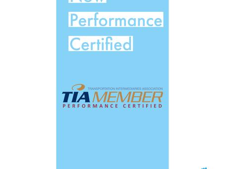 TIA Certified