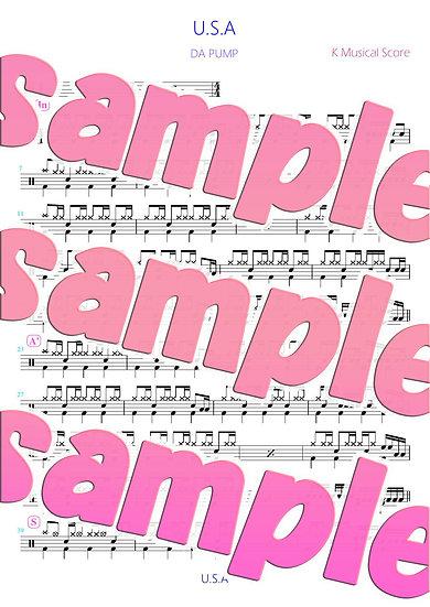 「 U.S.A.」 DA PUMP ドラムアレンジバージョン