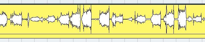 6人のドラマー×3位+僕の波形データ