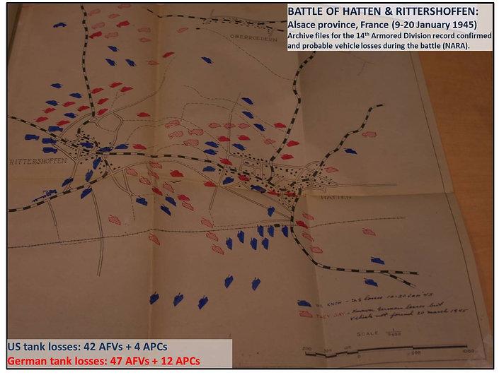 Battle of Hatten-Rittershoffen - Vehicle