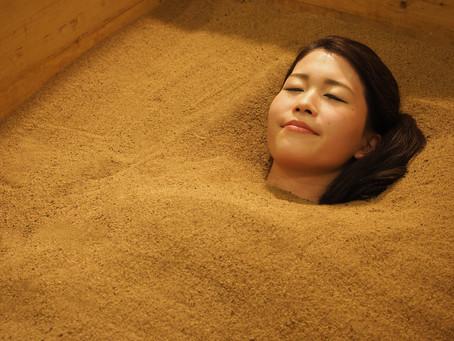 【スタッフブログ】ゆらぎ肌には酵素浴がおススメです