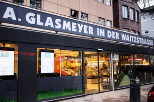 Glasmeyer in der Waitzstraße