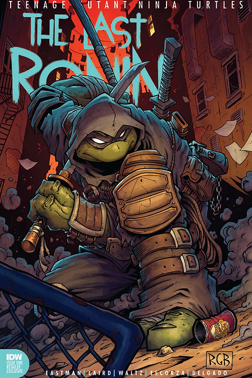 The Last Ronin #1 Signed and Sketched by Cover Artist Ryan Browne (10/28/20)