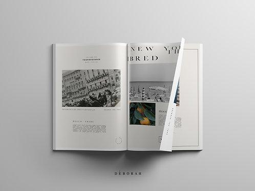 Printed Portfolio Design ( custom )