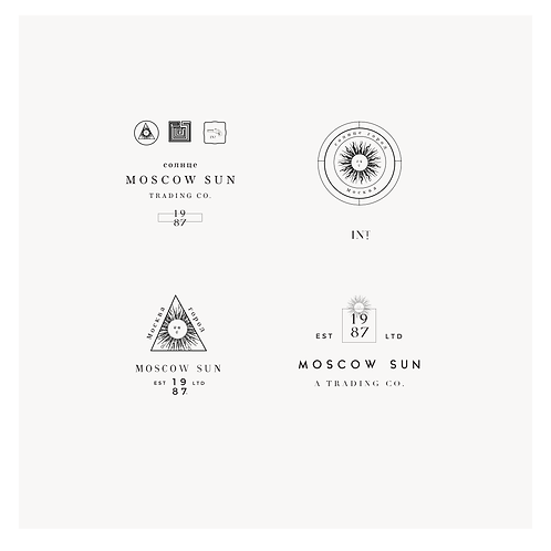 Moscow Logo Design Package