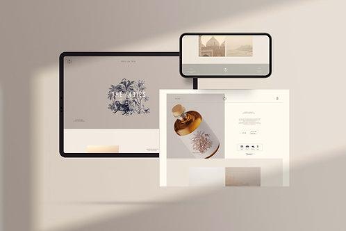 Custom SHOPIFY Website Design
