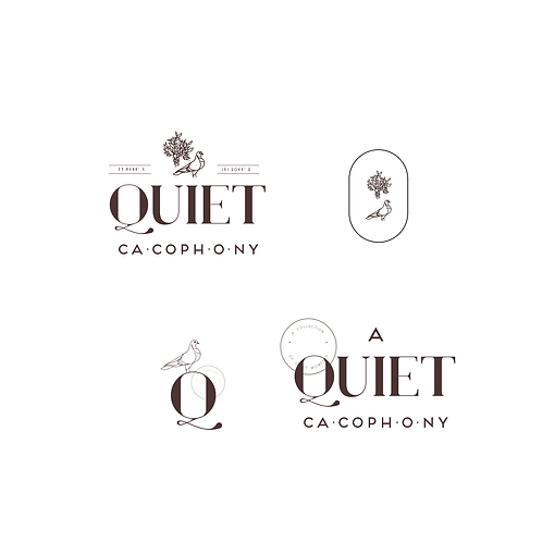FULL SET- Eclectic Logo (typography logo)
