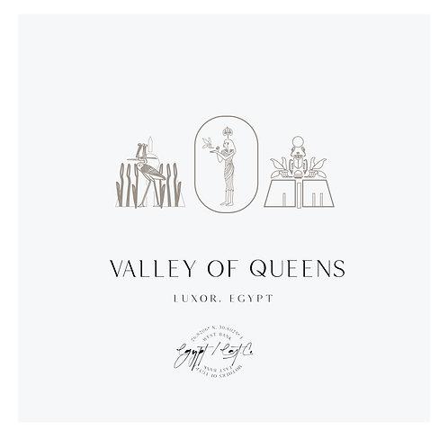 Queen Logo, Riad Logo,  Egyptian Logo, Geometric Logo, wasp logo
